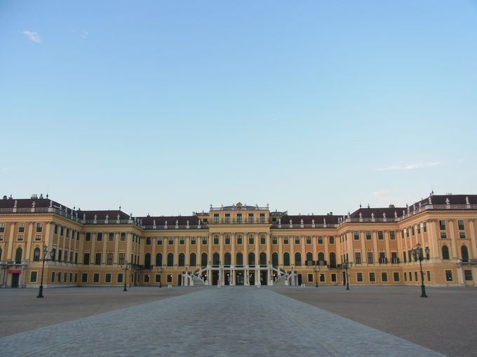 シェーンブルン宮殿の魅力