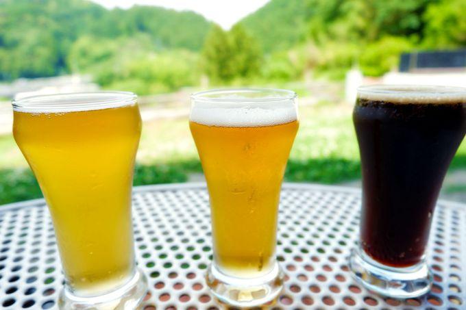 オリジナリティー溢れる本格クラフトビールに充実のフード類