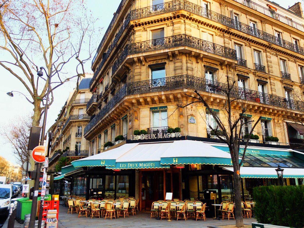 Cafe Les Deux Magots(カフェ レ・ドゥ・マゴ )