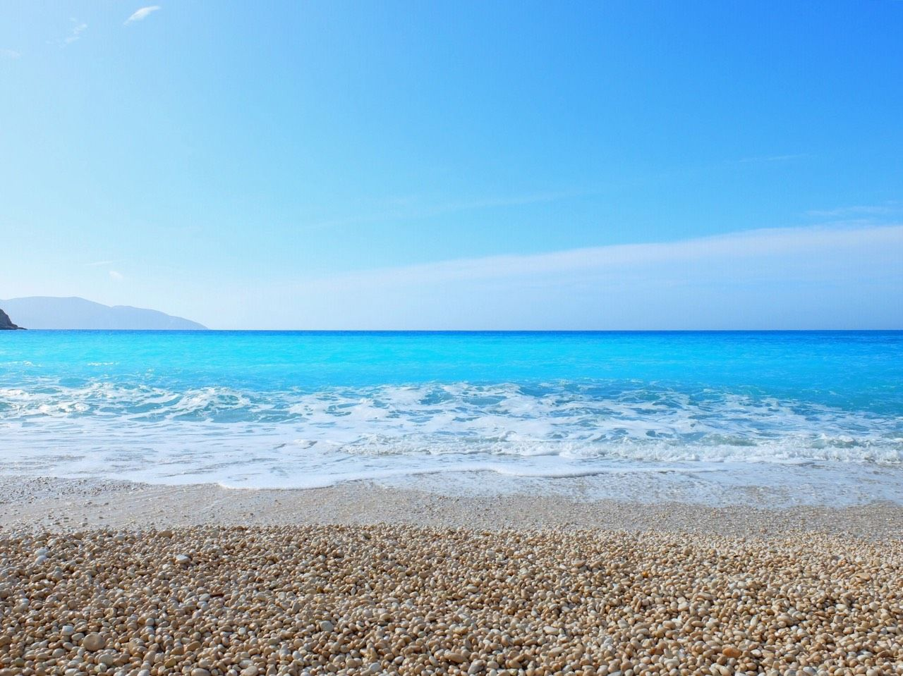 イオニア海最大の島ケファロニア島