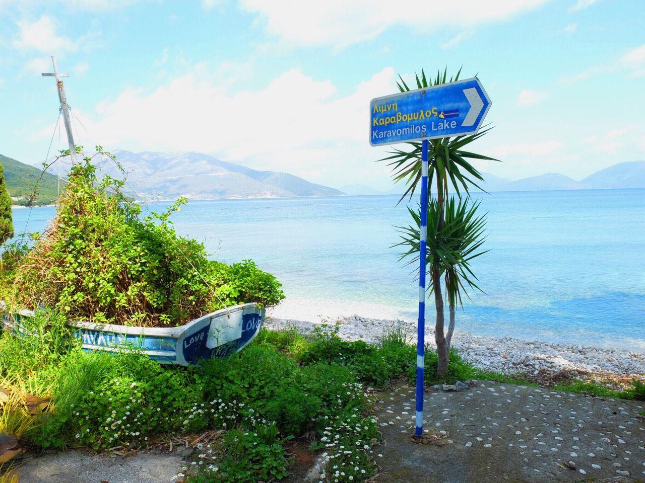 長閑で清々しい穴場「カラヴォミロス湖」