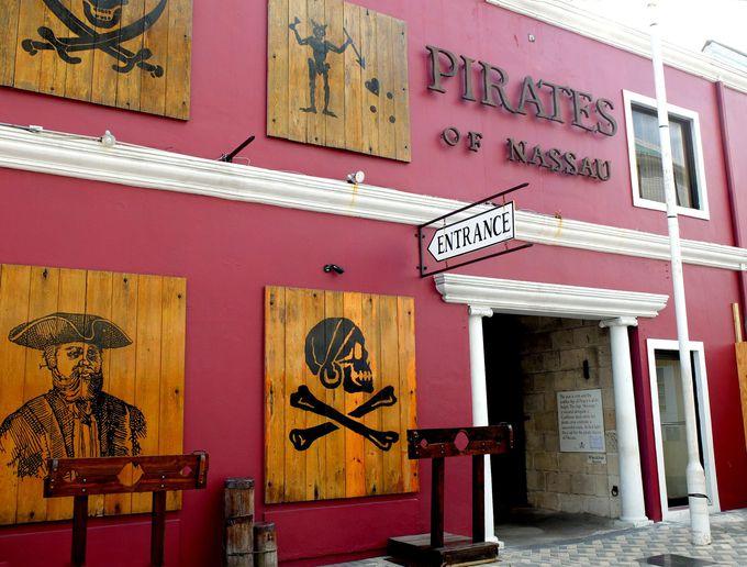カリブ海賊の巣窟ナッソー