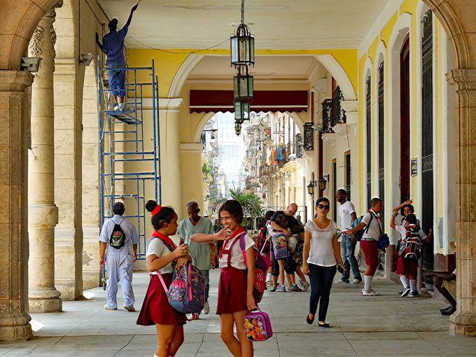 キューバの治安について