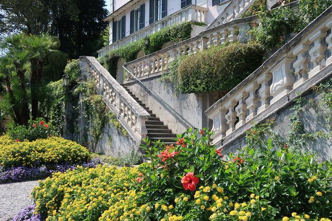 庭園の植物に癒やされる トレメッゾ