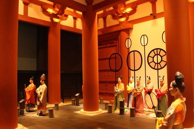 10階 古代フロア 難波宮 大阪と呼ばれる前の大阪