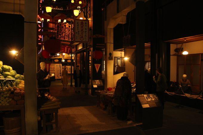 7階 近代・現代フロア まさに昭和の匂い!この階だけでも大阪歴史博物館に来る価値があります!