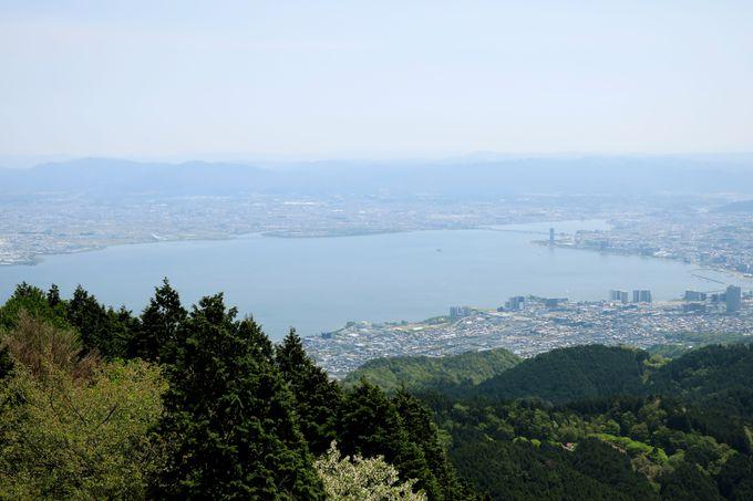 展望塔から360度のパノラマを一望!天気が良ければ大阪湾も