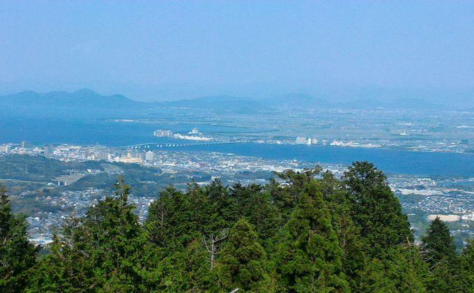 全国初!「橋のメロディーロード」琵琶湖大橋