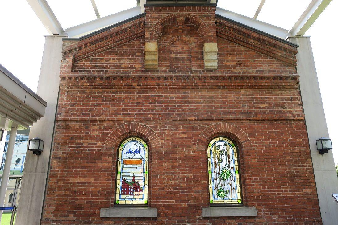 今も残る竣工当時の建物の外壁