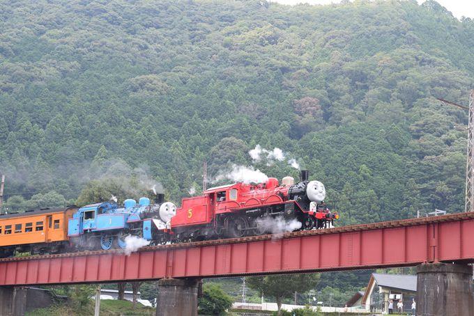 大井川鐵道をカメラにおさめよう!「道の駅 川根温泉」は絶景フォトスポット