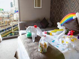子連れ旅におすすめ!ストリングスホテル 名古屋でトレインビュー