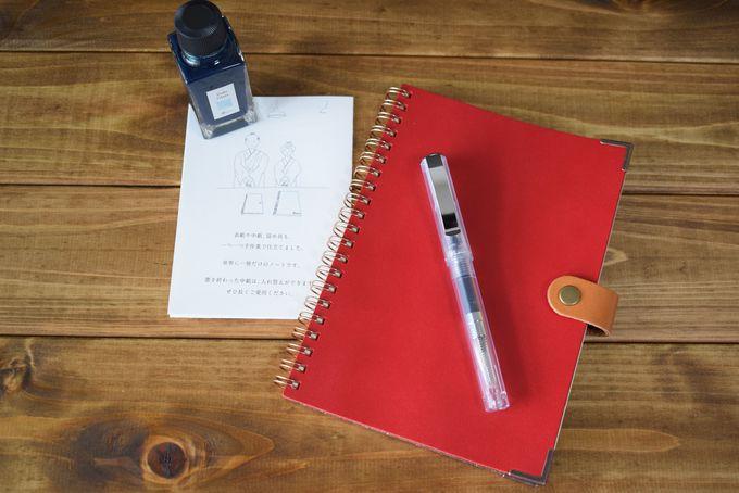 「書く」を楽しむ、カキモリオリジナル顔料インク・筆記具
