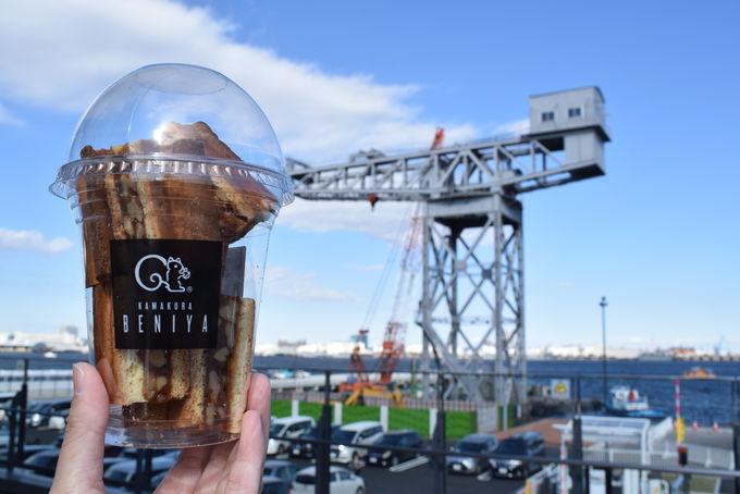 「クルミミカップ」を手に散策を楽しんで!