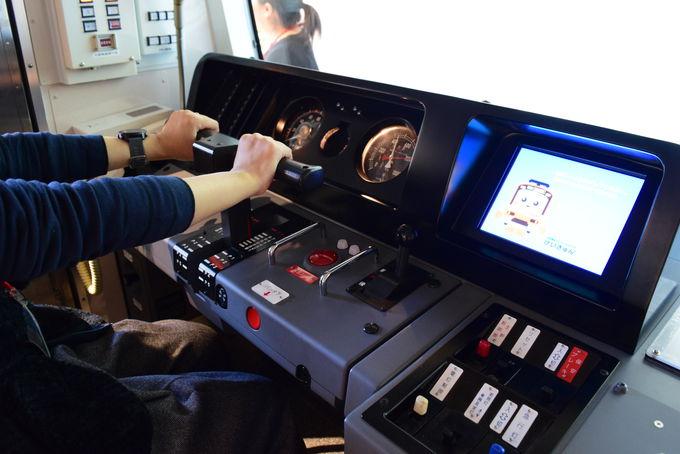 運転体験コーナー「鉄道シミュレーション」
