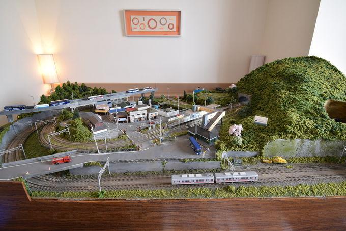 岩倉高等学校 鉄道模型部の「鉄道ジオラマルーム」