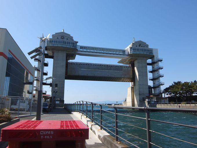 日本最大級の水門、びゅうおから富士山と駿河湾の絶景を楽しもう!