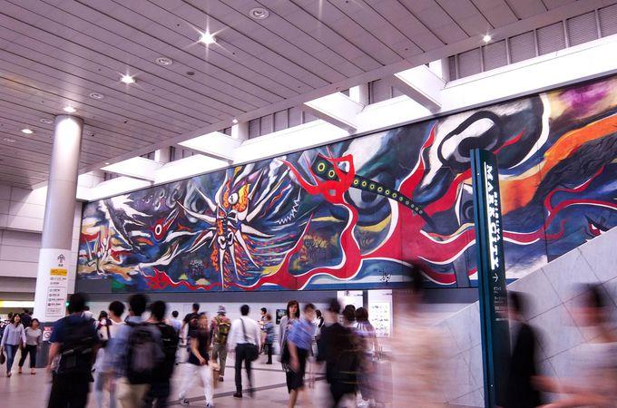 長さは30メートル!岡本太郎の巨大壁画《明日の神話》