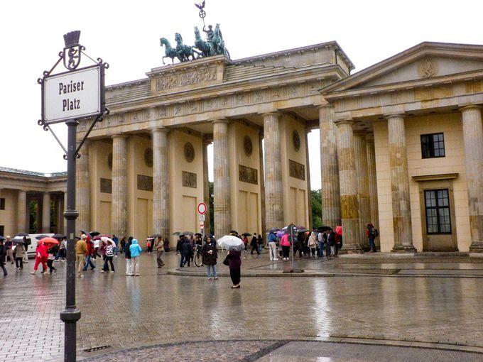 ドイツ統一の象徴、ブランデンブルク門