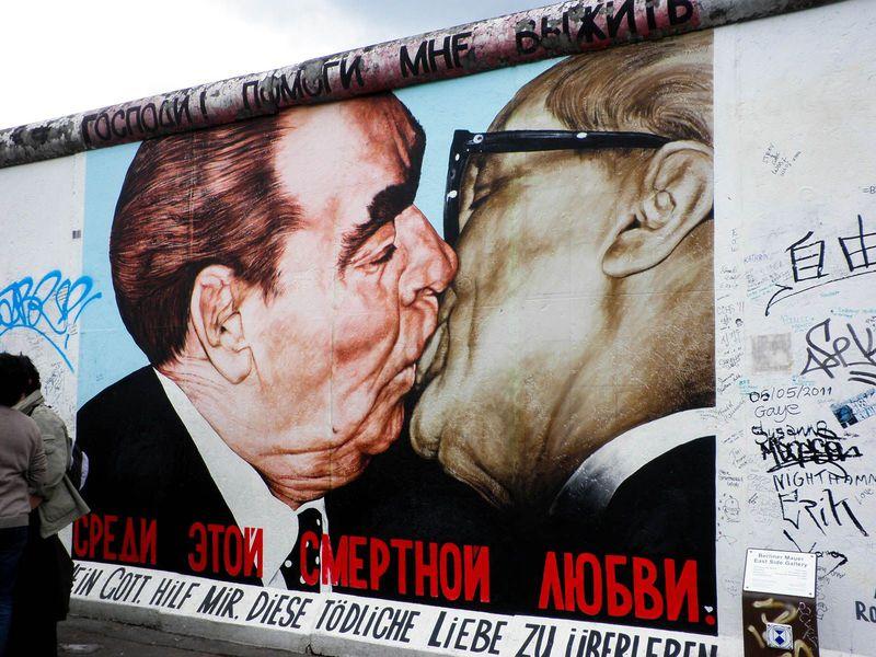 20世紀東西冷戦の象徴!ドイツ「ベルリンの壁」の跡を訪ねよう