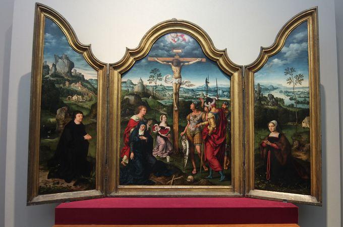 中世ヨーロッパの祭壇画