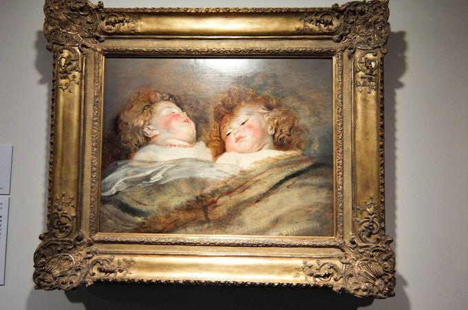 17世紀の巨匠ルーベンスの作品も!