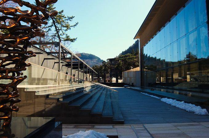 岡田美術館は、近年まれにみる規模の私設美術館!