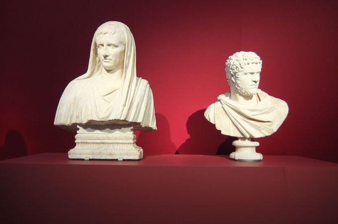 教科書で見たことがあるかも?ローマ皇帝からナポレオンまで、歴史上の権力者たちの姿