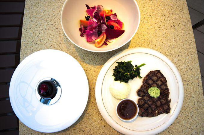 チームラボ プラネッツの世界を体験できるレストラン「The Bowl Steakhouse」