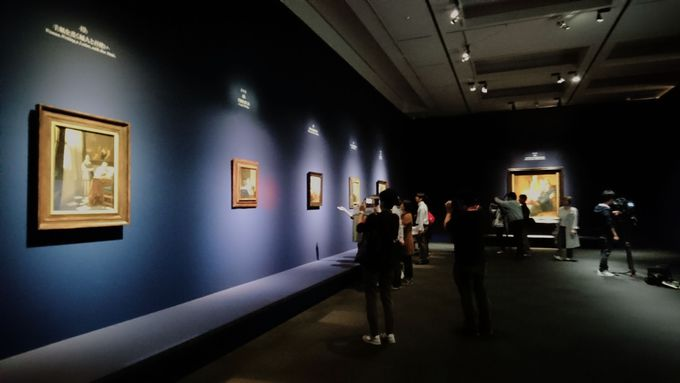 フェルメール・ルームでフェルメールの作品を堪能しよう!