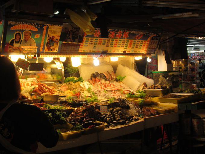 海鮮バーベキューも満喫しよう!
