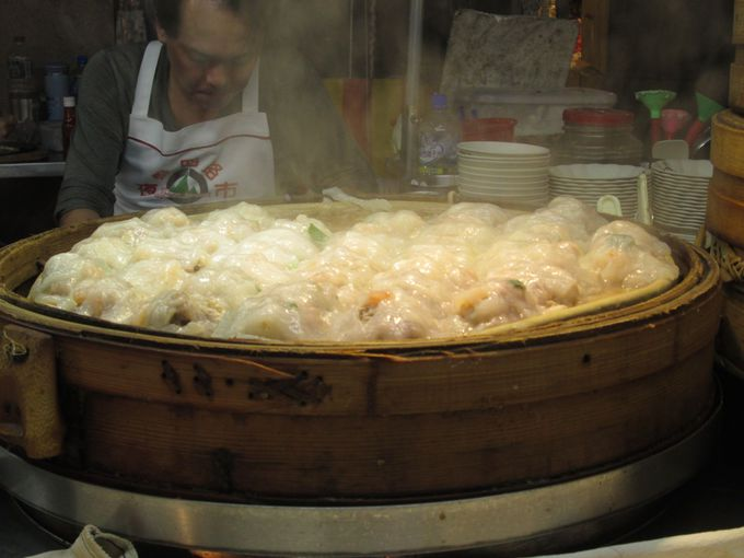 絶品!海鮮蒸し餃子を食す!