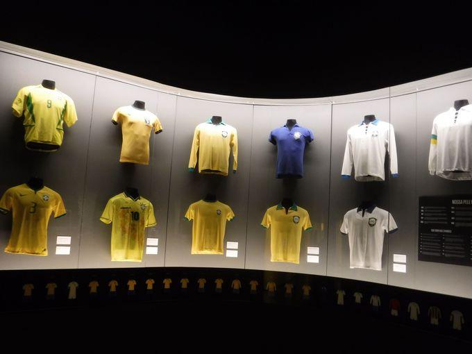 ブラジル代表ユニフォームの歴史