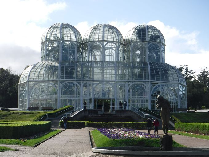 クリチーバのシンボル「植物園」でお散歩!