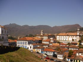 ゴールドラッシュで栄えた世界遺産オウロ・プレットで絶景街歩き!(ブラジル)