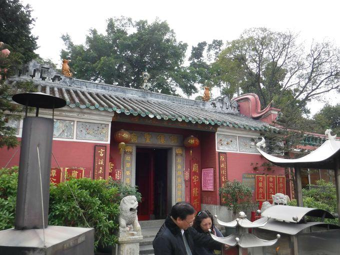 譚公廟で漁師の文化を体験しよう!