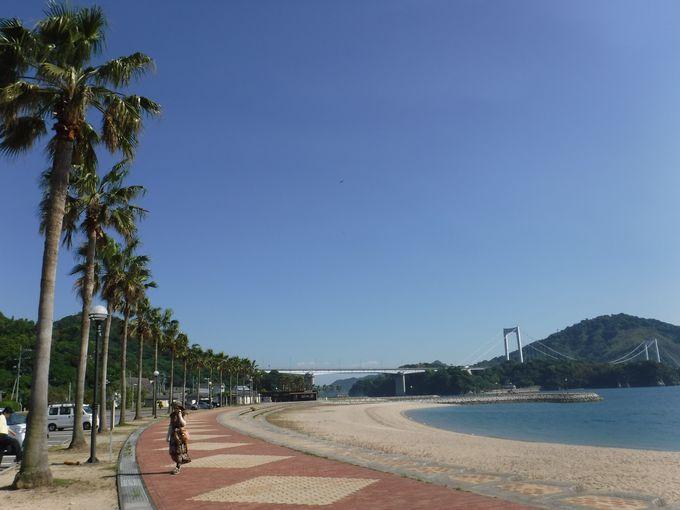 「伯方・大島大橋」と「大三島橋」の絶景スポット!