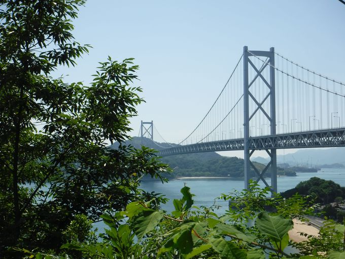 しまなみ海道の広島の玄関口「因島大橋」の絶景ポイント!