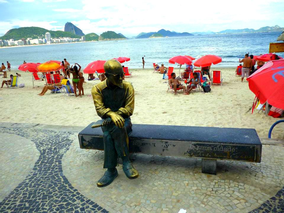 リオデジャネイロを代表する「コパカバーナビーチ」