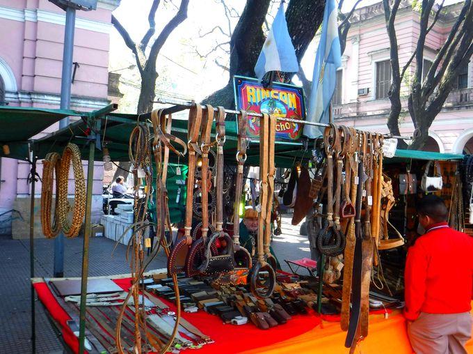 「マタデーロ日曜市」はアルゼンチンらしい雑貨の宝庫!