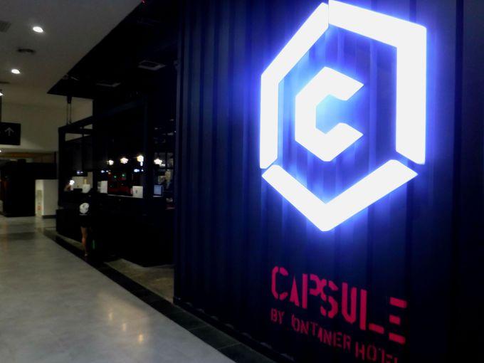 クアラルンプール国際空港のKLIA2にあるカプセルホテル「カプスールバイコンテナ」