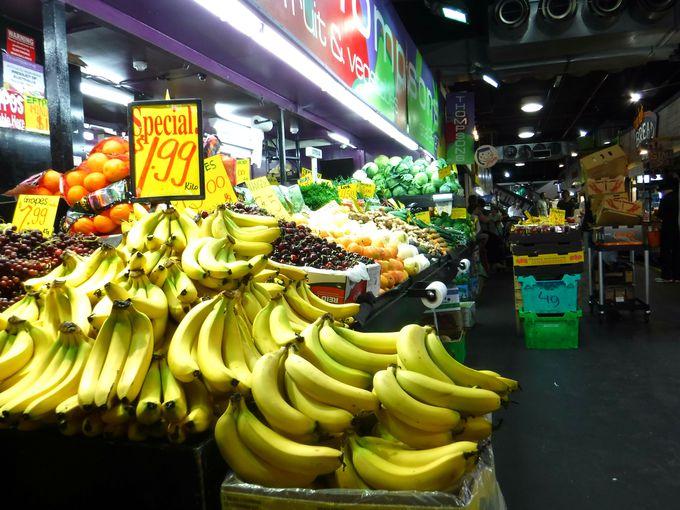 「アデレードの台所」セントラルマーケットで食材探し!