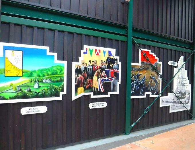 ワイタンギグラウンドで、ニュージーランドの歴史を学ぼう!
