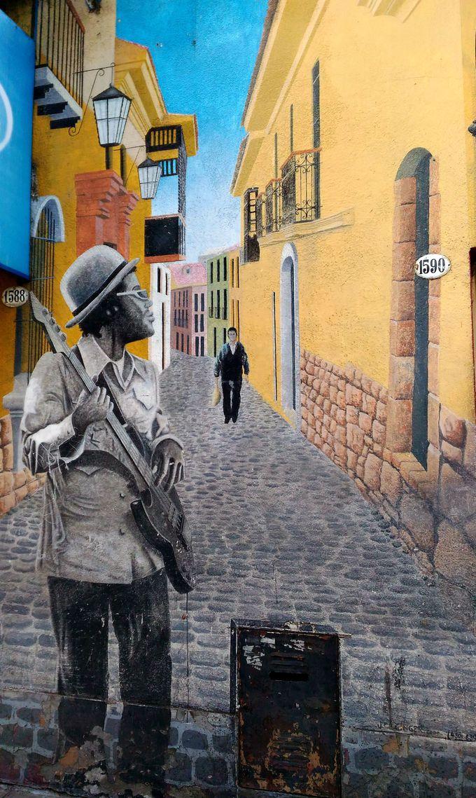 パレルモ地区の壮大なストリートアートは必見!