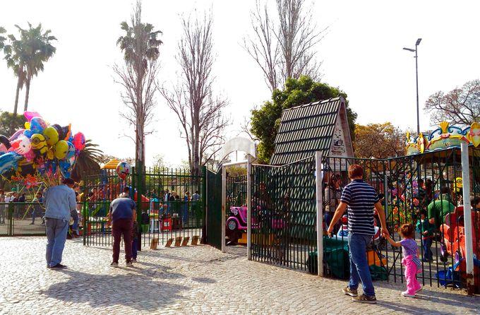「パレルモ・ソーホー」の公園でまったり。