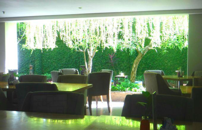 バリ空港へ向かう朝はしっかりホテルでバイキング!