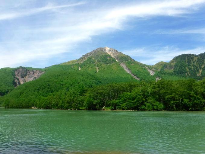 大正池と焼岳の絶景がスタート地点
