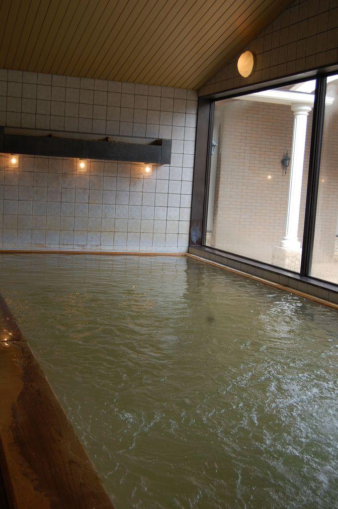 まずは3階で温泉入浴