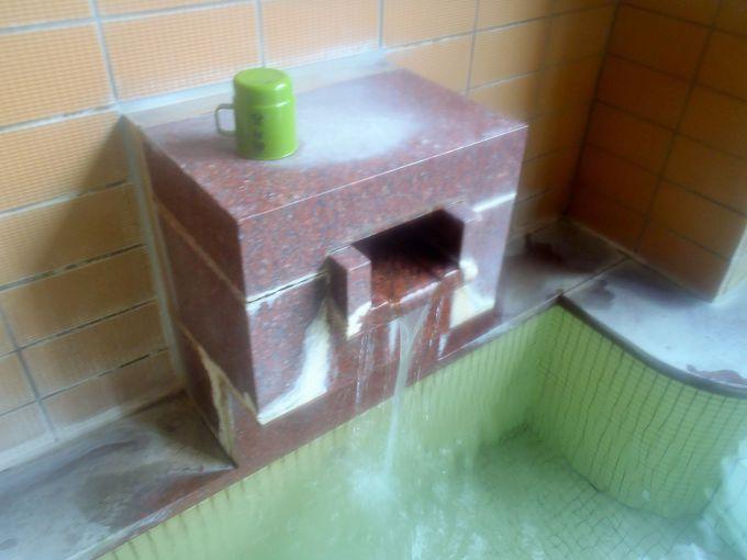 源泉浴槽の素晴らしさ