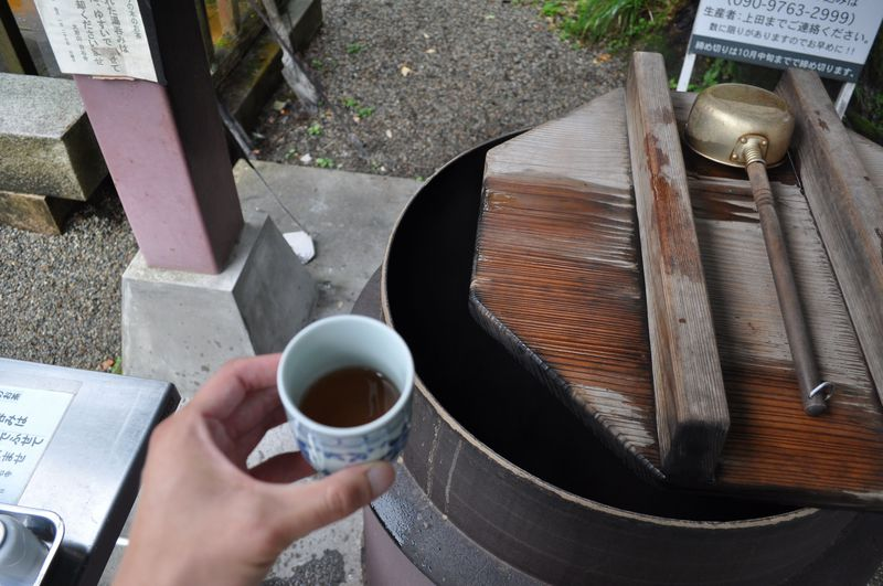 メグスリノキのお茶をどうぞ!富山県・日石寺は賑わう名刹