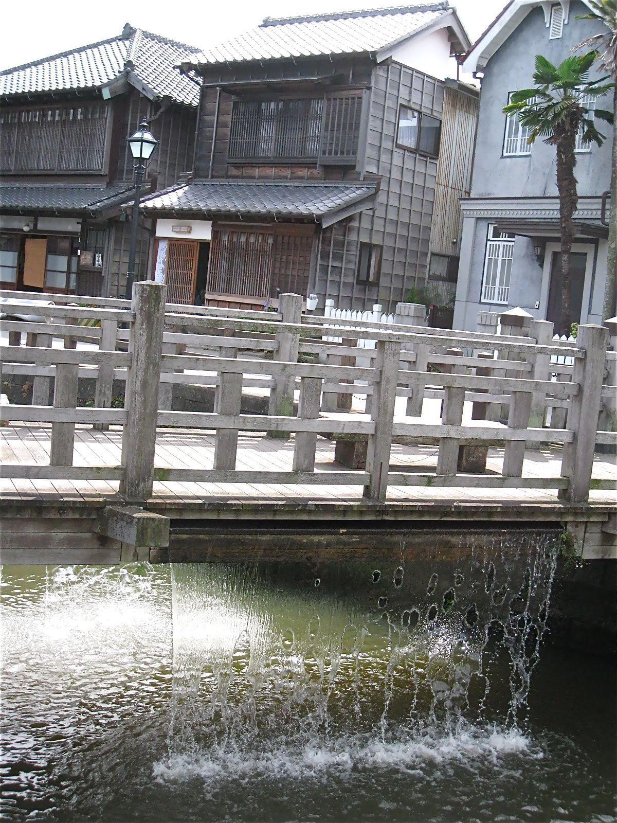 2.伊能忠敬記念館/伊能忠敬旧宅/樋橋(ジャージャー橋)